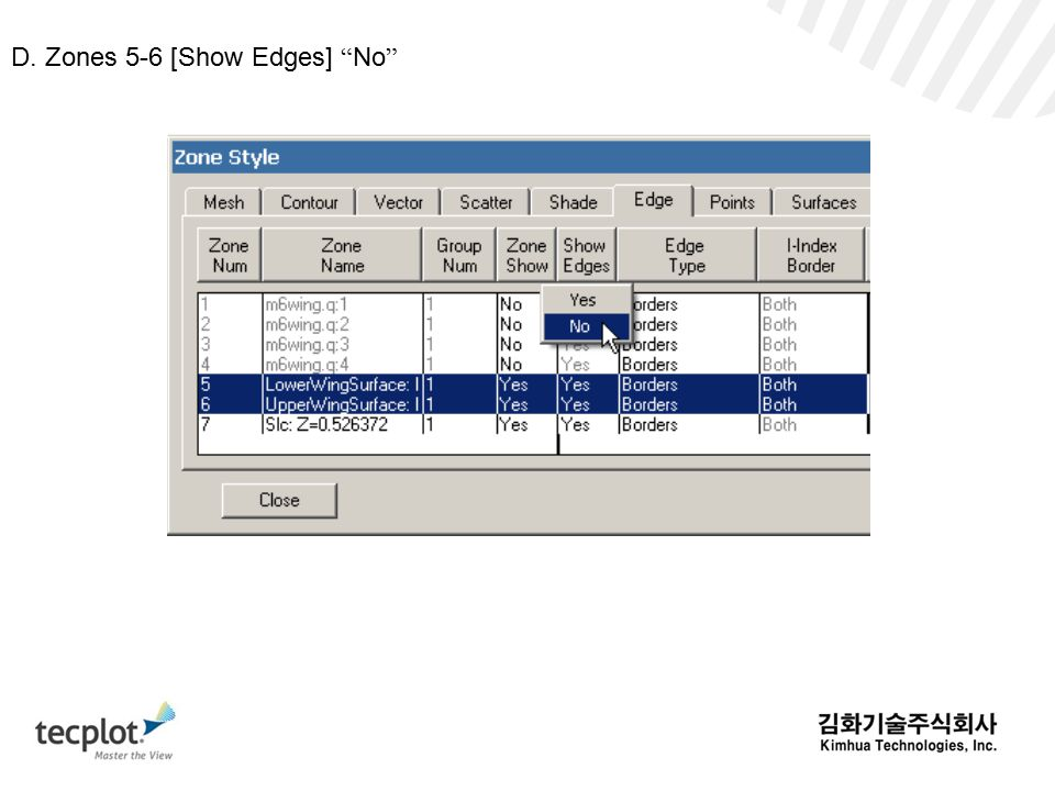 D. Zones 5-6 [Show Edges] No